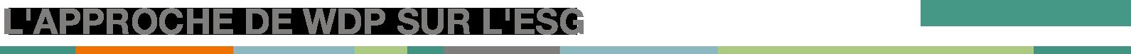 WDP - ESG