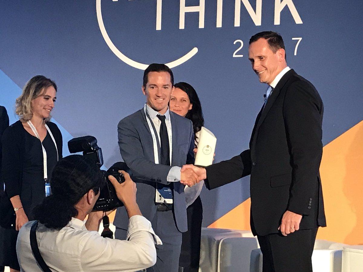 EPRA Sustainability Award - Mick Van den Hauwe