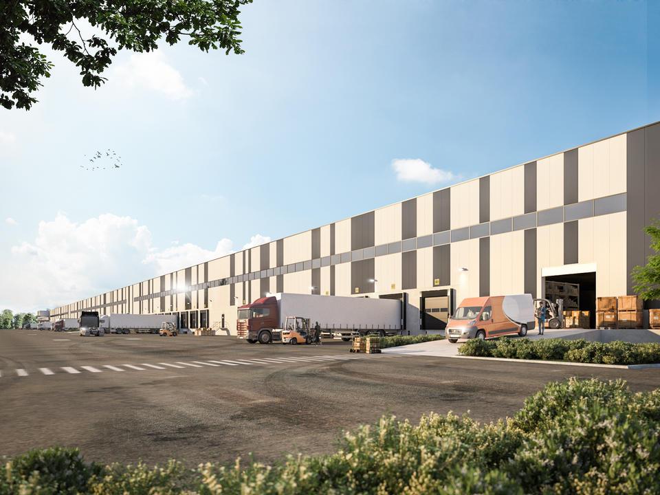 WDP Warehouses - Kanaaloever Genk